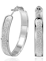 Dámské Náušnice - Kruhy ŠperkyZákladní design Jedinečný design Tetování Geometrický kruh přátelství Multi-způsoby Wear Cute Style