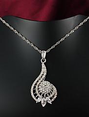 2015熱い販売の製品のパーティー/カジュアル金のペンダントネックレス美しい宝石メッキ