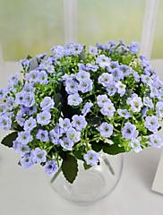 """casa viola chiaro avorio viola artificiali fiori milano 2 mazzi / lotto staminali 10.24 """""""