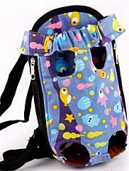 roztomilý přenosné pet carrior batoh pro psy kočky 26 * 15 cm / 10 * 6 palců