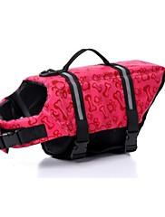 犬用品 ライフジャケット レッド オレンジ ブルー ピンク 犬用ウェア 夏 春/秋 ボーン スポーツ 防水