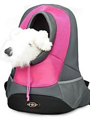 ネコ 犬 キャリーバッグ ペット用 バスケット 携帯用 高通気性 イエロー レッド グリーン ブルー