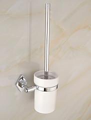 moderní elegantní mosaz chrom držák WC kartáče