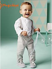 Boy Jaro/Podzim Bavlna Košile/Kalhoty/Sady oblečení Dlouhý rukáv