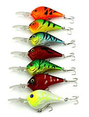 """10 個 ルアー クランク ランダム色 グラム/オンス,95 mm/3.8"""" インチ,硬質プラスチック スピニング 川釣り 一般的な釣り"""