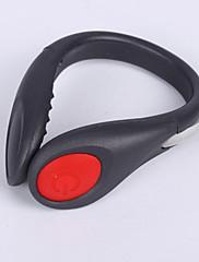 caoku 2 mod 80 stražnja svjetla / svjetla sigurnosne baterije 1 CR2032 lako nositi kamp / planinarenje / biciklizam 200 crni