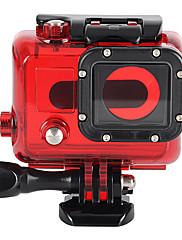のGoProヒーロー3 + / 3のための専門の45メートル防水水中ハウジング保護ケース - 赤