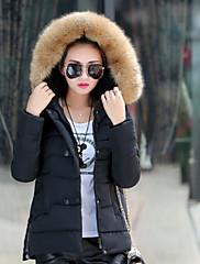 Ležérní Pláštěnka/Stojací límec - Dlouhé rukávy - ŽENY - Coats & Jackets ( Směs bavlny )