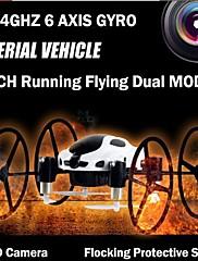 fy318b quadcoptero drone s 2.4GHz 4kanálového 6 osy gyroskop 0.3MP kamera LED světlo rc hračky radio ovládání quadricopter