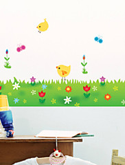 Botanický motiv / Módní Samolepky na zeď Samolepky na stěnu , PVC 70cm*50cm