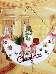 """53 * 51 cm / 21 * 20 """"vánoční sněhulák měsíc dveře závěsy vánoční strom hotel bytové dekorace oken"""