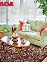 Persie hedvábí koberec
