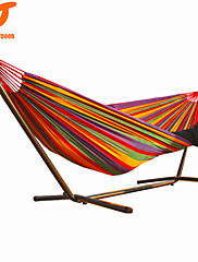 SWIFT Outdoor High Quality 280x160cm Colorful Cotton Canvas outdoor  2 Person Hammock