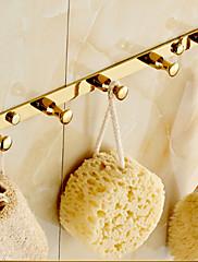 バスローブフック / 浴室小物 Ti-PVD ウォールマウント 32cm*2cm*5cm(12.6*0.8*1.97inch) 真鍮 モダン
