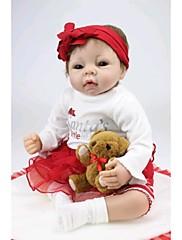赤npkdoll生まれ変わった赤ちゃん人形柔らかいシリコーン22inchの55センチメートル磁気口本物そっくりのかわいい素敵なおもちゃ女の子