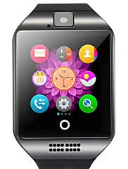 q18 de montre intelligent avec la caméra de l'écran tactile pour téléphone Android et iOS