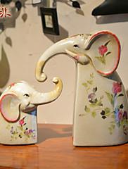 ヨーロピアンスタイルの近代的な陶磁器の卓上装飾家の装飾