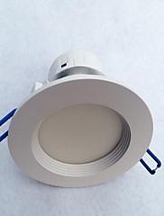 5W LEDダウンライト 3 ハイパワーLED 500 lm 温白色 装飾用 AC 100-240 V 1個