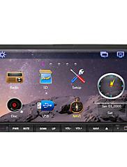 RDSブルートゥースと7インチ2 DINのTFTスクリーンインダッシュカーDVDプレーヤー、ナビゲーション対応のGPS、iPodの入力、