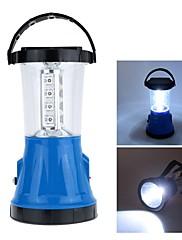 Solar Rechargeable 17 LEDs Portable Bivouac Camping Hiking Tent Lantern Light Lamp