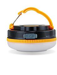 Osvětlení Lucerny a stanová světla LED 180 Lumenů 1 Režim LED USB Voděodolný Dobíjecí Kempování a turistika ABS