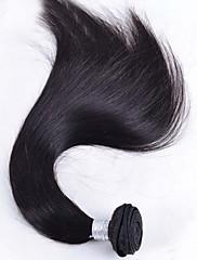 Lidské vlasy Vazby Brazilské vlasy Proste Jeden díl Vazby na vlasy
