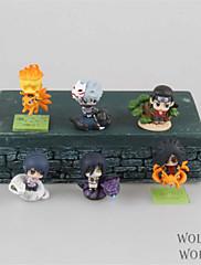Anime Čísla akce Inspirovaný Naruto Hokage PVC 3.5 CM Stavebnice Doll Toy