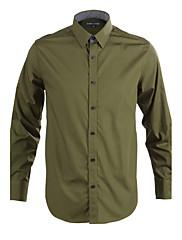 JamesEarl 男性 シャツカラー ロング シャツ&ブラウス グレー - DA112045314