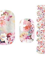 1PC Nail Art samolepka Květina make-up Kosmetické Nail Art design