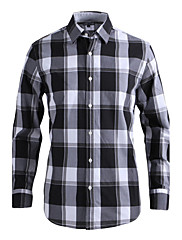 JamesEarl 男性 シャツカラー ロング シャツ&ブラウス 黒フェード - DA112007926