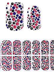 lijepa roza Koreja DIY dijamant naljepnice 3d noktiju