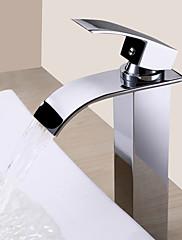 Koupelnové baterie Sprinkle®  ,  Moderní  with  Pochromovaný Jeden kohoutek S jedním otvorem  ,  vlastnost  for Vodopád