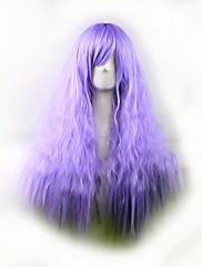 najprodavaniji Europi i Sjedinjenim Američkim Državama periku ljubičasta kukuruz vruće bočne kovrčava kosa perika