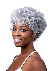 ファッショナブルな白い色の短い長さの最高品質の合成かつら