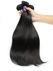 Lidské vlasy Vazby Brazilské vlasy Proste 12 měsíců 3 kusy Vazby na vlasy