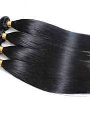 Lidské vlasy Vazby Malajské vlasy Vlnité 12 měsíců 3 kusy Vazby na vlasy
