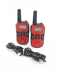 Kids Walkie Talkies Handheld 2-way Radio 22 CH 462.550- 467.7250MHz 0.5W Portable UHF Intercom for Hiking Camping