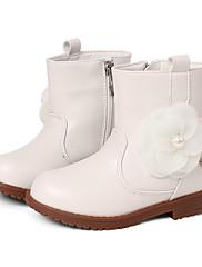 Za djevojčice Čizme Proljeće Jesen Zima Udobne cipele Umjetna koža Formalne prilike Ležeran Zabava i večer Kockasta potpeticaCvijet od