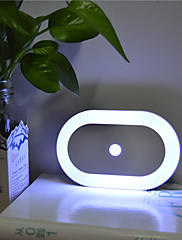 Motion-Sensing Led Nightlight Battery-Powered Can Stick to Anywhere Only Work in Dark Area
