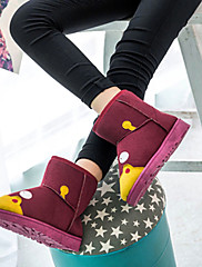 Žene Čizme Udobne cipele PU Aktivnosti u prirodi Ležeran Ravna potpetica Crna Crvena Nude