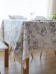 方形 トワル テーブルクロス , リネン 材料 ホテルのダイニングテーブル / 表Dceoration