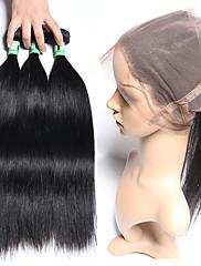 Vlasy Útek se zapínáním Indické vlasy Proste 12 měsíců 4 kusy Vazby na vlasy