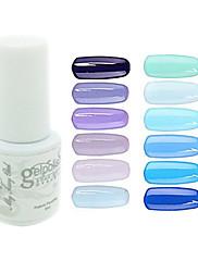 yemannvyou®sequins uv color gel na nehty no.61-72 (5 ml, různé barvy)