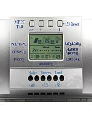 y-solarni 40a lcd PWM solar regulator punjenja regulator baterija 3 puta 12v / 24V T40-a