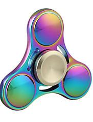 Tri-Spinner Ceramics Metal Fidget Spinner (Various Colors)