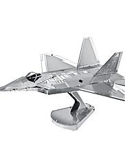 Puzzle 3D puzzle Stavební bloky DIY hračky Fighter Kov Modelování