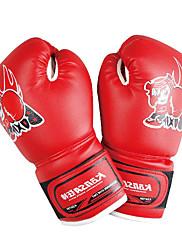 ボクシンググローブ ボクシング・サンドバッグ用グローブ プロボクシング用グローブ ボクシング・練習用グローブ グラップリンググローブ パンチングミット のために 武術 総合格闘技(MMA) フルフィンガー 保護 PU レッド ブルー