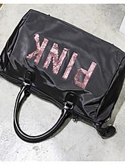 Unisex Cestovní taška Tkanina Oxford Polyester Celý rok Ležérní Zip Černá