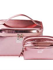 Ženske vreće setovi pu sve sezone casual baguette patent zatvarač fuchsia purpurno pocrvenjeti pink zlatno plava
