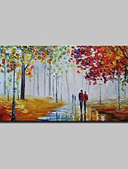 手描きの 風景 横式,抽象画 近代の 1枚 キャンバス ハング塗装油絵 For ホームデコレーション